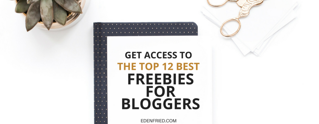 FREEBIES FOR BLOGGERS