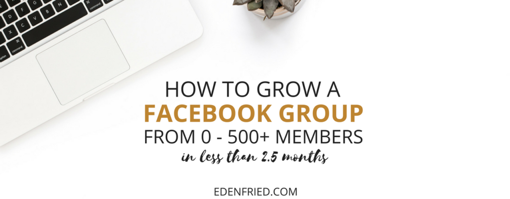 how to grow a facebook group
