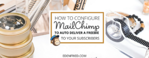 How to Auto Deliver an Opt In Freebie With Mailchimp (the free version)