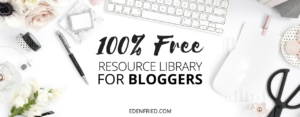 Resource Library for Bloggers