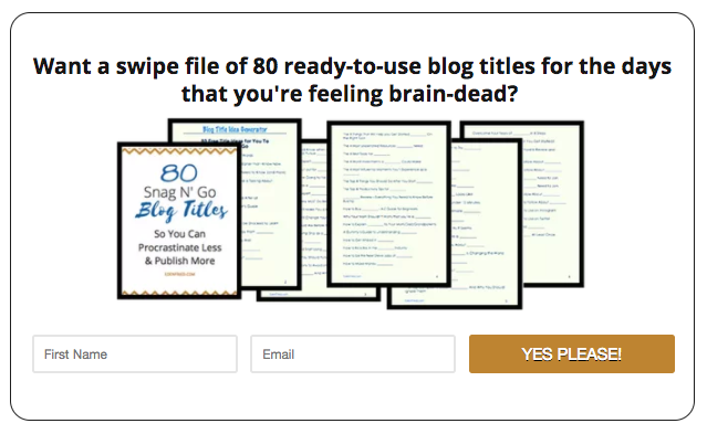 How to Brainstorm & Create Opt-in Freebies that Will Explode