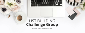 List Building Challenge Group