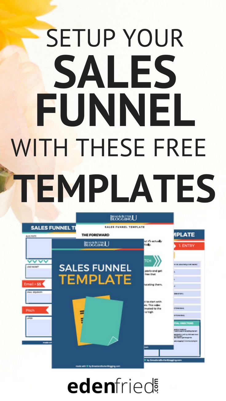 Sales Funnel Worksheet Edenfried