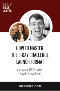 How to Master the 5-Day Challenge Launch Format