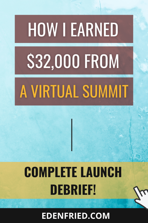 behind the scenes of my virtual summit launch